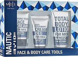 Духи, Парфюмерия, косметика Набор - Mades Cosmetics Nautic (cr/75ml + lot/150ml + cr/75ml)