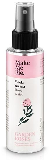 """Розовая вода """"Дамасская роза"""" для интенсивого увлажнения - Make Me Bio Damask Rose Flower Water"""