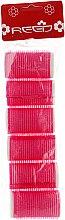 Духи, Парфюмерия, косметика Бигуди-липучки с валиком 28 мм, розовые - Reed Curlers