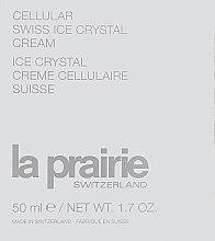 Духи, Парфюмерия, косметика Антивозрастной крем - La Prairie Cellular Swiss Ice Crystal Cream