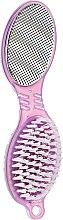 Духи, Парфюмерия, косметика Терка-пемза для ног 4-х сторонняя, Ф3008, фиолетовая - Rapira