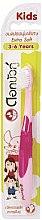 Духи, Парфюмерия, косметика Детская ультрамягкая зубная щетка, розовая - Twin Lotus Dok Bua Ku Kids Toothbrush ExtraSoft