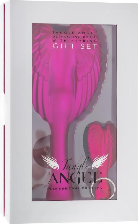 Подарочный набор, фуксия - Tangle Angel Limited Edition Gift Set (brush/1pcs+brush/mini/1pcs)
