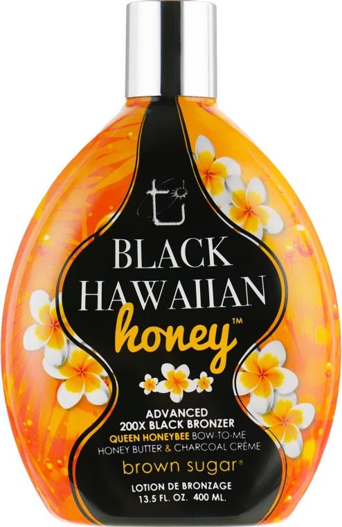 Крем для загара в солярии на основе маточного молочка и экстрактов экзотических фруктов - Brown Sugar Black Hawaiian Honey 200x