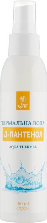 Термальная вода с Д-пантенолом в форме спрея - Флори Спрей