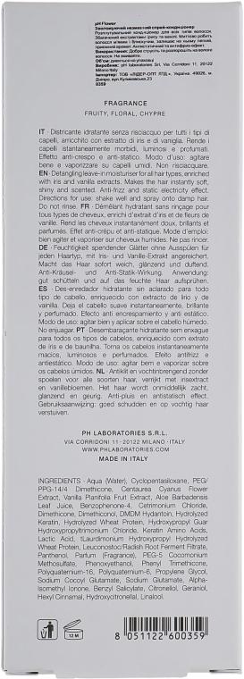 Увлажняющий несмываемый спрей-кондиционер - Ph Laboratories Condiceoner — фото N3