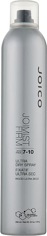 Лак швидкосохнучий сильної фіксації (фіксація 7-10) - Joico Style and Finish Joimist Firm Ultra Dry Spray-Hold 7-10 — фото N1