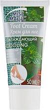 Охлаждающий крем для ног с камфорой и мятным маслом - Miss Magic Cooling Foot Cream With Camphor And Peppermint Oil — фото N2