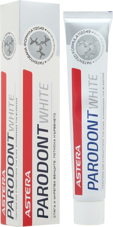 Отбеливающая зубная паста от пародонтоза - Astera Parodont White Toothpaste