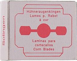 Духи, Парфюмерия, косметика Лезвия для педикюрного станка 10 штук, 0544 - Niegelon Solingen