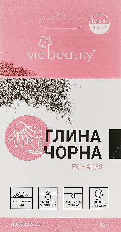 Косметическая черная глина - Viabeauty