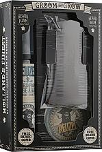 Духи, Парфюмерия, косметика Набор - Reuzel Groom & Grow Box Set (balm/35g + foam/70ml + comb)