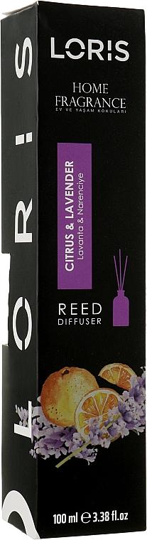 "Аромадиффузор ""Цитрус и Лаванда"" - Loris Parfum Home Fragrance Reed Diffuser"