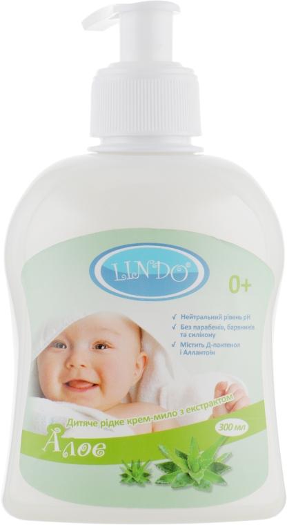 Жидкое крем-мыло c экстрактом алоэ - Lindo