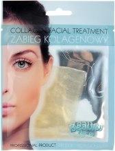 Духи, Парфюмерия, косметика Коллагеновая маска с частицами золота и бриллиантов - Beauty Face Collagen Hydrogel Mask