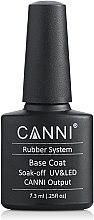 Духи, Парфюмерия, косметика Каучуковое базовое покрытие - Canni Rubber Base Coat