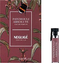 Духи, Парфюмерия, косметика Neglige Patchouli Absolute - Парфюмированная вода (пробник)