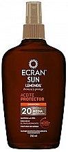Духи, Парфюмерия, косметика Солнцезащитное масло - Ecran Sun Lemonoil Oil Spray SPF20