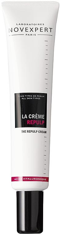 Наполняющий крем для лица - Novexpert Hyaluronic Acid The Repulp Cream