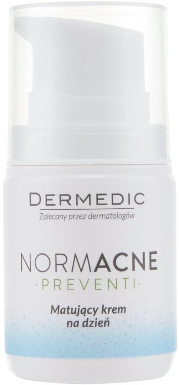Крем для лица дневной матирующий - Dermedic Normacne Mattiffying Day Cream