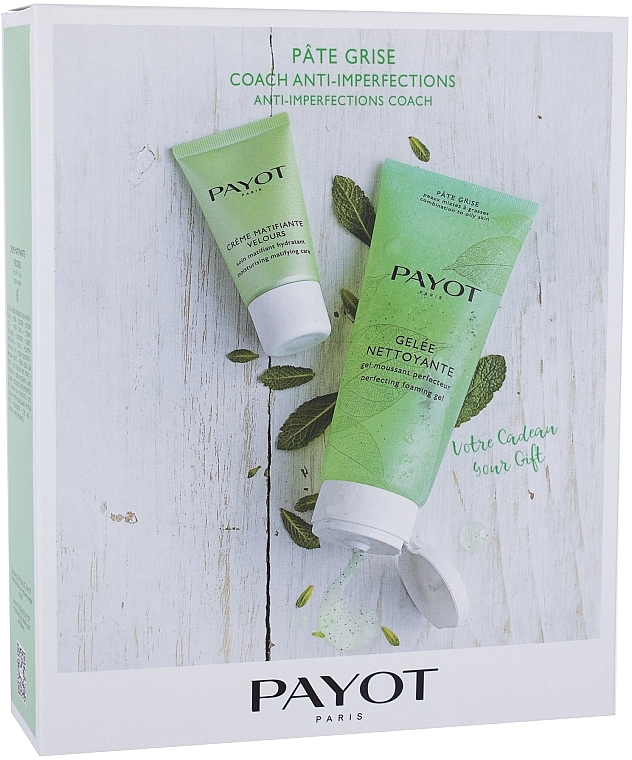 Набор - Payot Payot Pate Grise (cl/gel/200ml + cream/50ml)