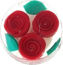 """Духи, Парфюмерия, косметика Натуральное глицериновое мыло """"Красная роза"""" - Bulgarska Rosa Rosa Fantasy Soap"""