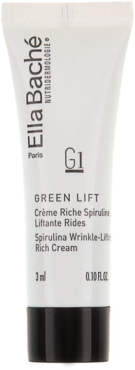Спирулайн крем омолаживающий питательный - Ella Bache Spirulina Wrinkle-Lifting Rich Cream (пробник)