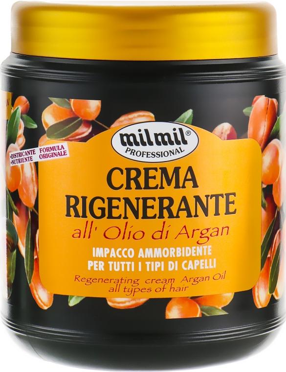"""Маска для волос """"Аргановое масло"""" - Mil Mil Crema Rigenerante All'Olio Di Argan"""