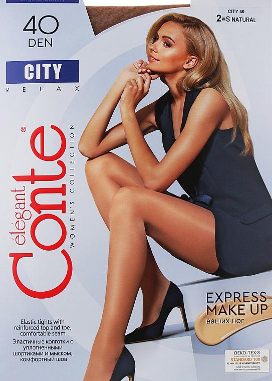 "Колготки ""City"" 40 Den, natural - Conte"