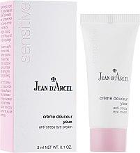 Духи, Парфюмерия, косметика Крем для чувствительной кожи вокруг глаз - Jean d'Arcel Sensitive Anti Stress Eye Cream (мини)