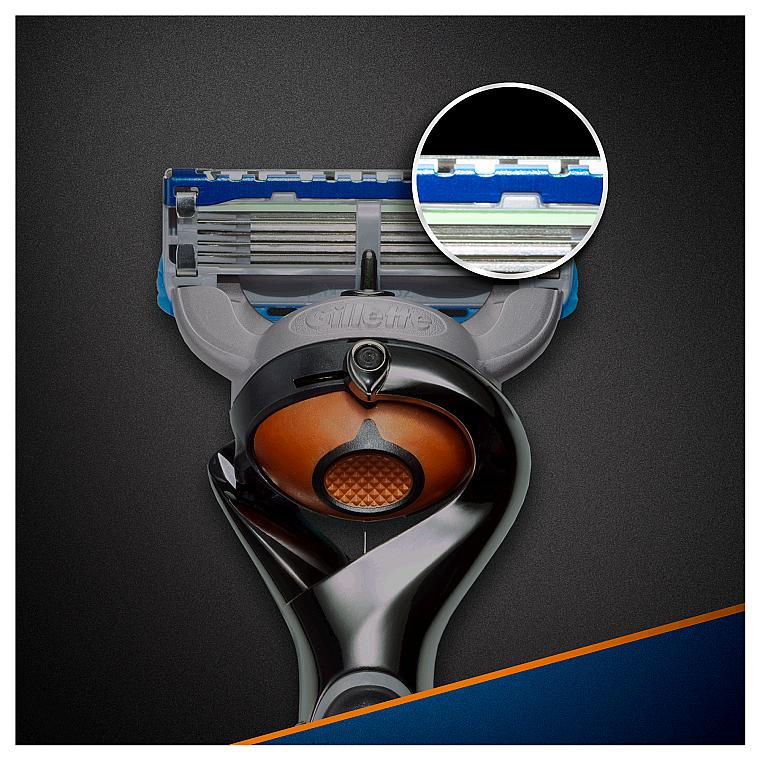 Бритва с 1 сменной кассетой - Gillette Fusion ProGlide Power Flexball — фото N4