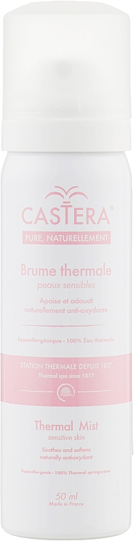 Вода термальная, аэрозоль - Castera Brume Thermale