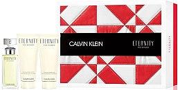 Духи, Парфюмерия, косметика Calvin Klein Eternity For Women - Набор (edp/50 ml + b/lot/100 ml + sh/gel/100 ml)