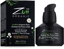 Духи, Парфюмерия, косметика Лосьон для постепенного загара лица - Zuii Organic Flora Gradual Face Tan Lotion