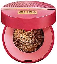 Парфумерія, косметика Запеченные тени для век - Pupa Glamourose Metallusion