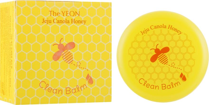 Медовый очищающий бальзам для лица - The Yeon Jeju Canola Honey Clean Balm