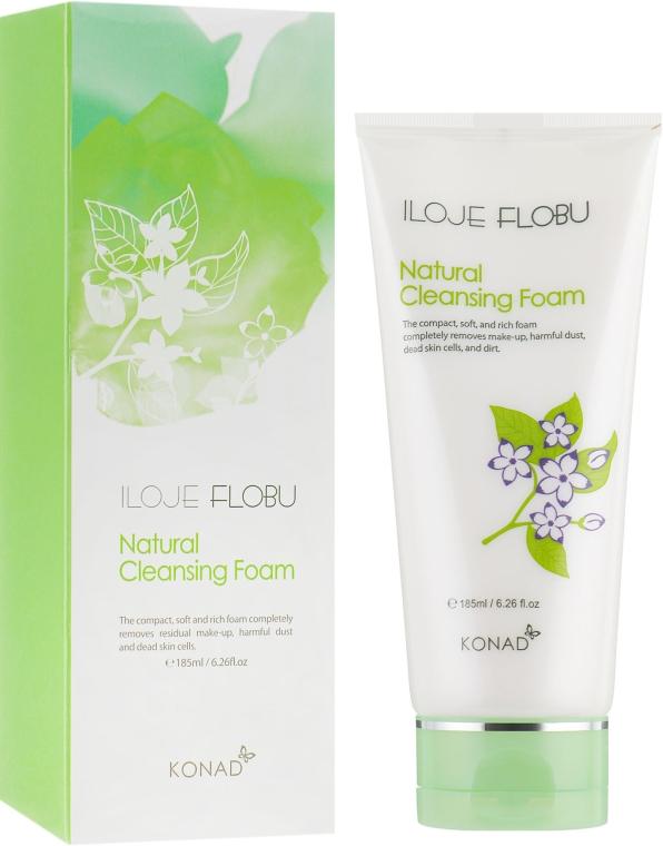 Очищающая пена для лица - Konad Iloje Flobu Natural Foam Cleansing