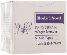 Духи, Парфюмерия, косметика Крем для лица - Body&Soul Daily Cream