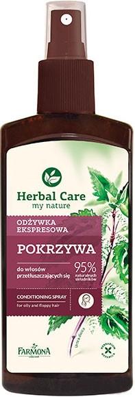 """Кондиционер-спрей для жирных волос """"Крапива"""" - Farmona Herbal Care Conditioner"""