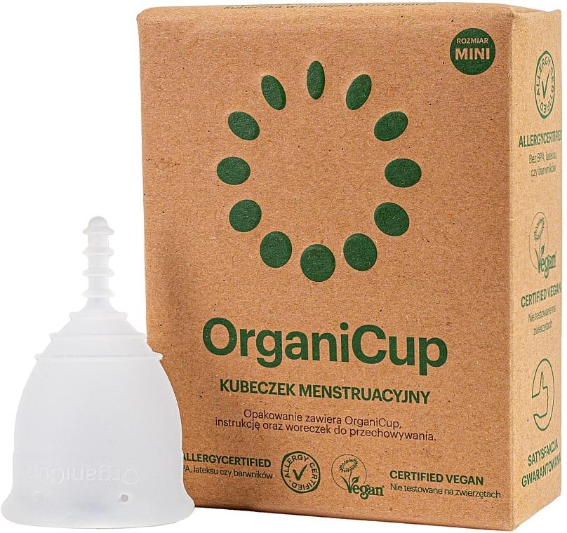 Менструальная чаша, размер мини - OrganiCup