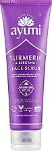 Духи, Парфюмерия, косметика Скраб для лица - Ayumi Turmeric & Bergamot Face Scrub