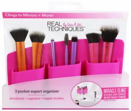 """Духи, Парфюмерия, косметика Органайзер для кистей """"Розовый"""" - Real Techniques 3 Pocket Expert Organizer Pink"""