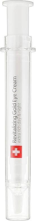 Омолаживающий крем для век с коллоидным золотом - TETe Cosmeceutical Revitalizing Gold Eye Cream