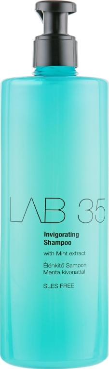 Освежающий шампунь для стимулирования роста волос - Kallos LAB 35 Invigorating Shampoo
