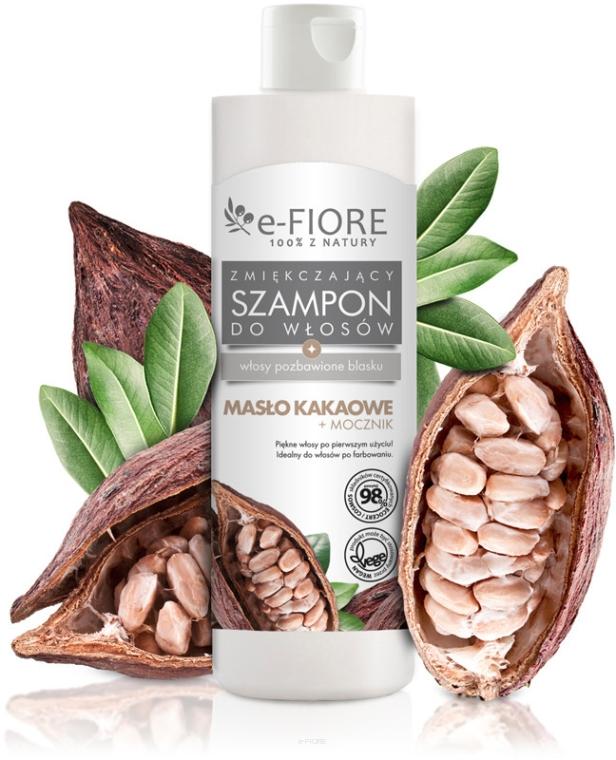 Шампунь для волос с какао маслом и мочевиной - E-Fiore