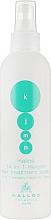 Парфумерія, косметика Спрей для волосся з кератином - Kallos Keratin Spray