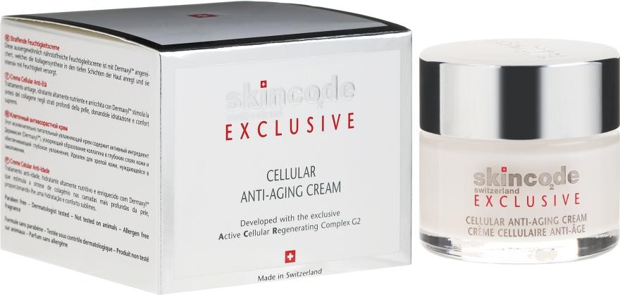 Клеточный крем против старения - Skincode Exclusive Cellular Anti-Aging Cream