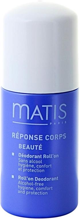 Дезодорант шариковый - Matis Reponse Corps Roll`on Deo