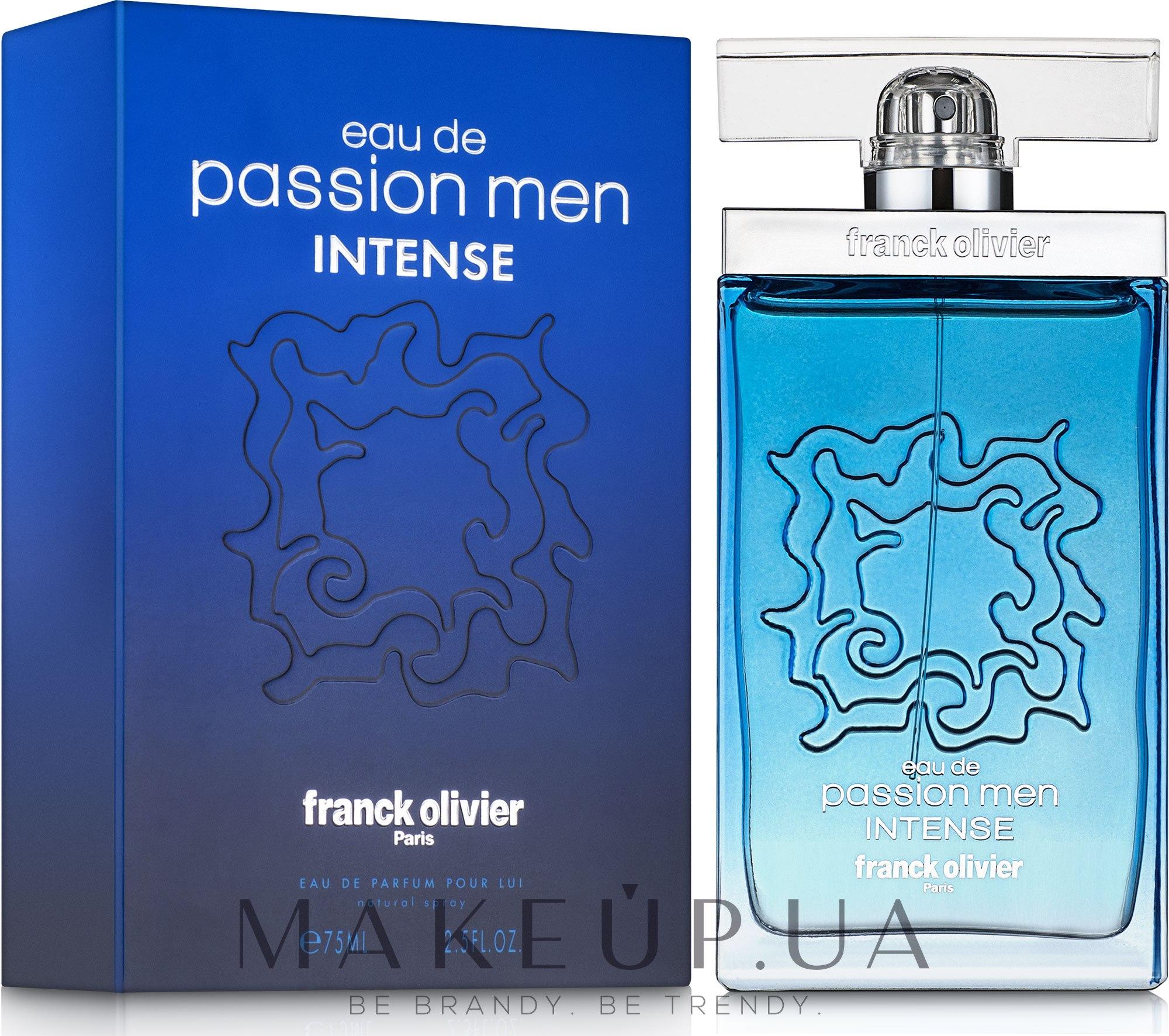 Franck Olivier Eau De Passion Intense - Парфюмированная вода — фото 75ml