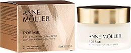 Духи, Парфюмерия, косметика Питательный восстанавливающий крем для лица - Anne Moller Rosage Rich Repairing Cream Spf15